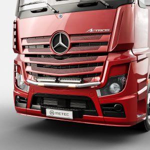 Metec RVS Lampenbeugel City mini Mercedes-Benz Actros