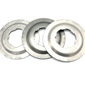 Plaatje met vlottergat in RVS staal aluminium