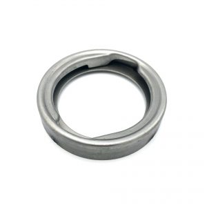 Vulhals met ring