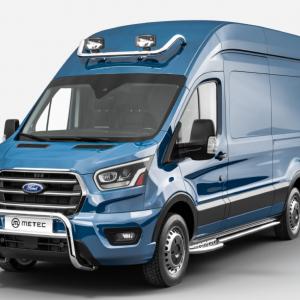 Lampenbeugel RVS Ford Transit